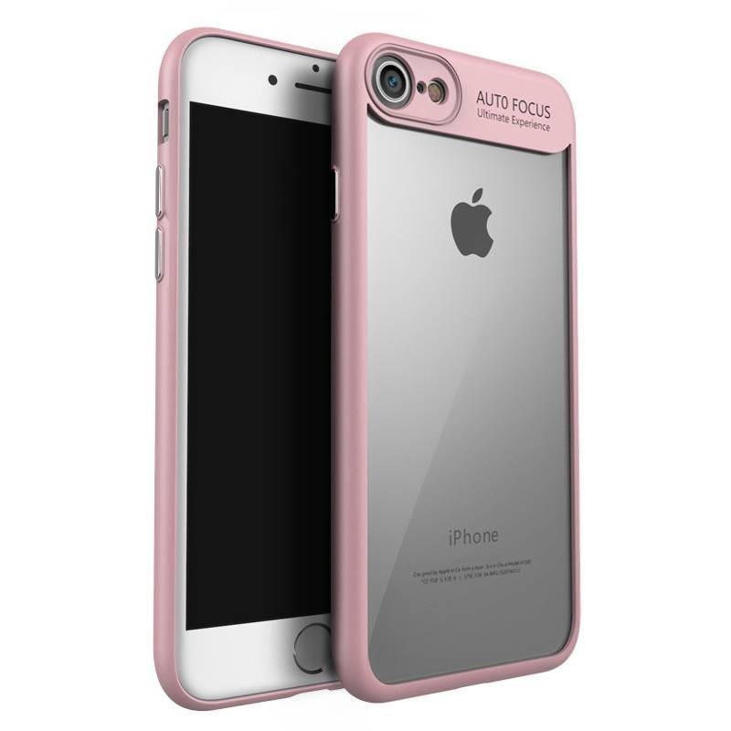 iphone 8 plus/7 plus - Coque souple Ipaky en TPU/PC antichute - Rose