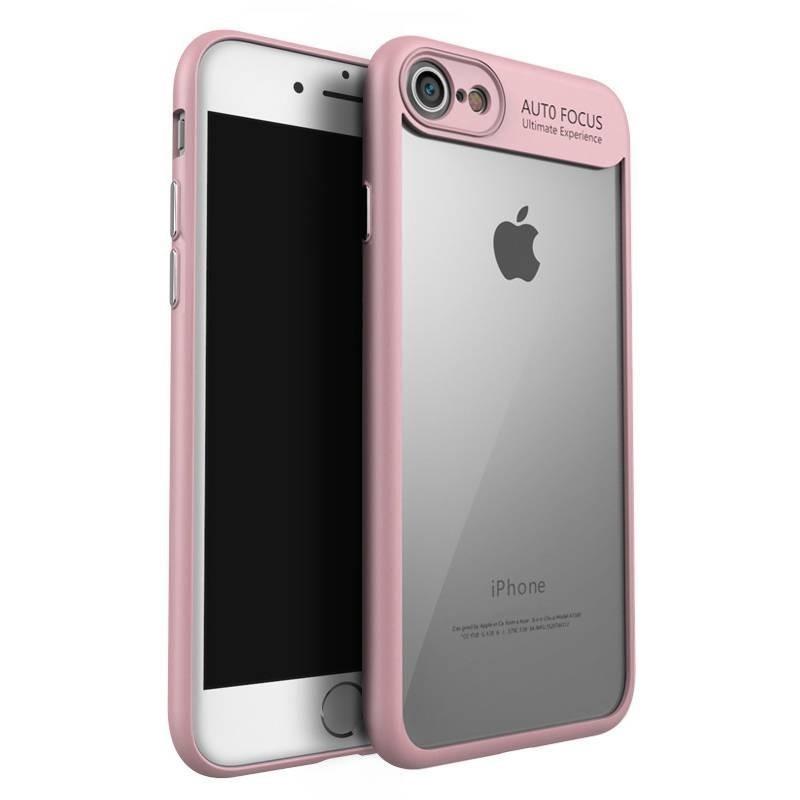 iphone 8 plus/7 plus - Coque souple Ipaky en TPU/PC antichute - Rose