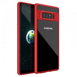 Galaxy Note 8 - Coque souple Ipaky en TPU/PC anti choc -rouge