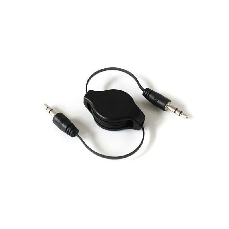 Câble Rétractable AUX Prise jack 3.5mm