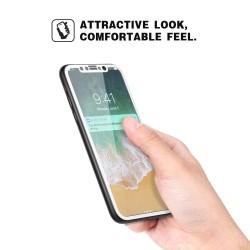 iPhone X - Protection plein d'écran en Verre Trempé 3D Noir