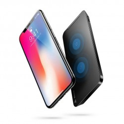 iPhone XS/X - Qi chargeur induction rapide vertical Baseus
