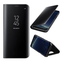 Galaxy Note 8 - Etui Housse à rabat effet miroir Noir