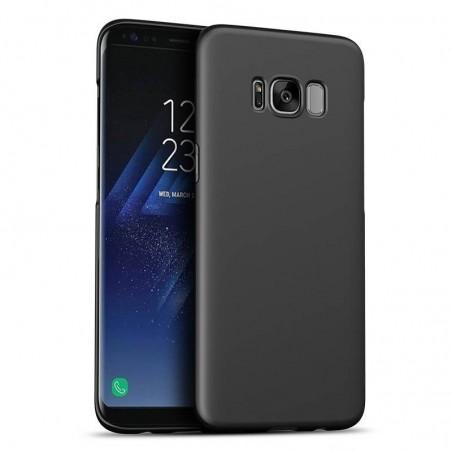 Galaxy note 8 - coque rigide lisse noire anti choc