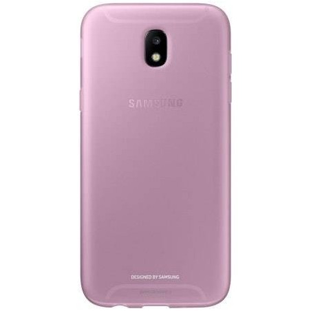 Coque Officielle Samsung Galaxy J5 2017 Jelly Cover – Rose