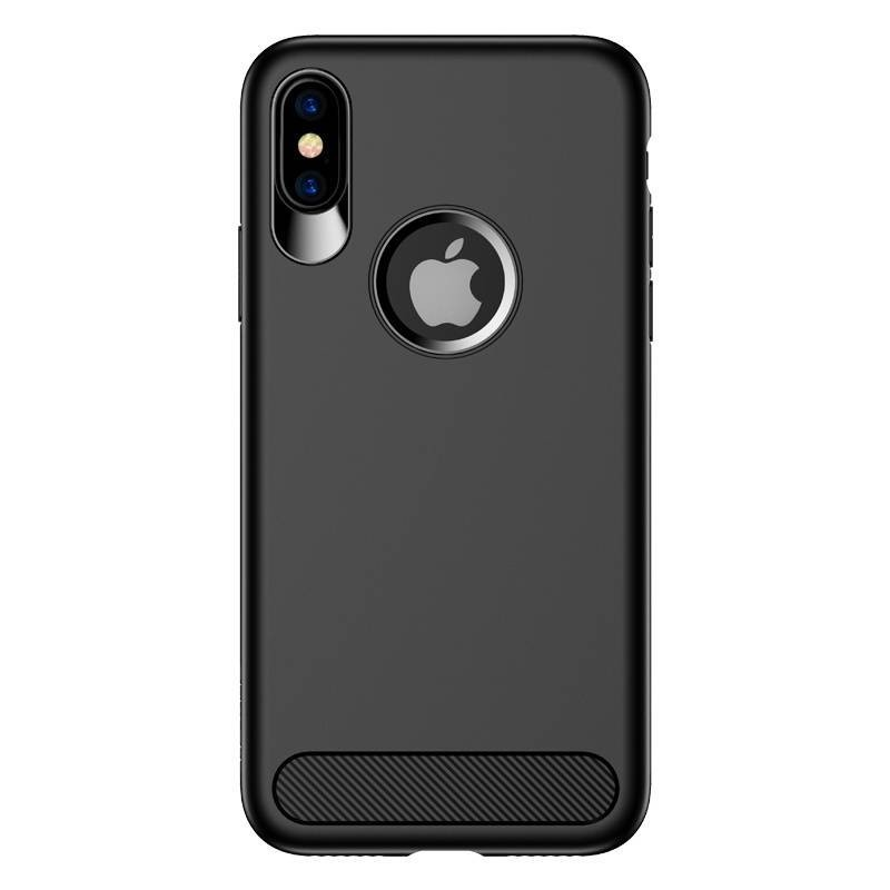 iPhone X - USAMS Muze Series Case Cover - Noir