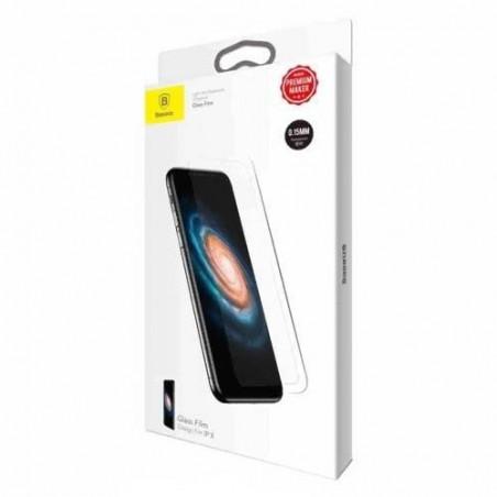 iPhone X - Protection d'écran en Verre Trempé transparente 0.15mm