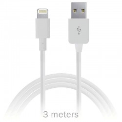 iphone, ipad, ipod - câble Lightning vers USB -3mètres
