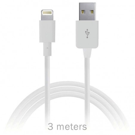 iphone, ipad, ipod - câble Lightning vers USB -3mètres