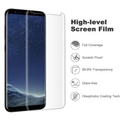 Galaxy Note 8-Protection écran Verre 3D version réduite - transparente