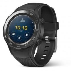 Huawei - Watch 2 Sport - Montre GPS sport connectée - Smartwatch pour Android et iOS - Noir (avec 4G)