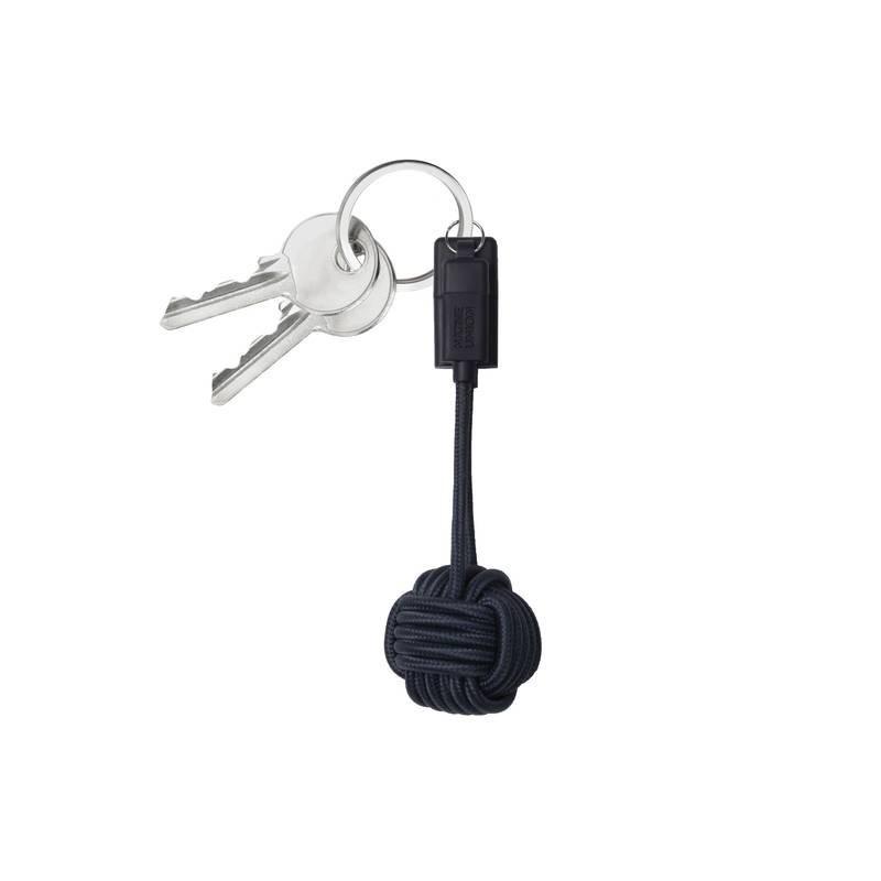 Native union Porte-clés câble chargeur android micro USB-Marine/orange