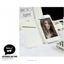 iPhone 7+/8+ étui avec strass diamant imité