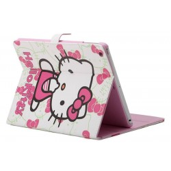 iPad mini 1/2/3 - étui support hello kitty
