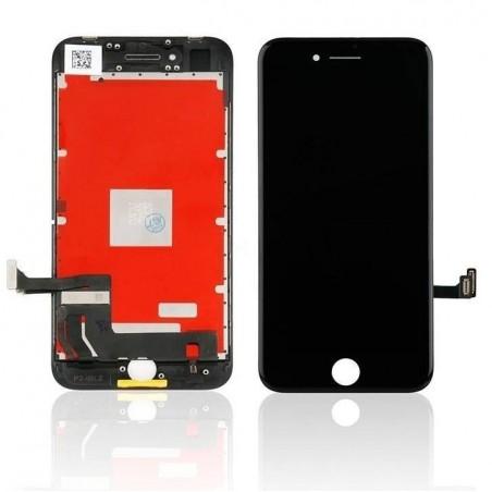 iPhone 8 plus -Kit de réparation écran reconditionné -NOIR (Outils offerts)